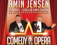 Amin Jensen på tur med Comedy vs. Opera i 2013