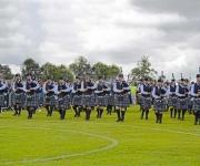 Holbæk Pipeband, sækkepiber i garden, deltaget i verdensmesterskaberne i skotland