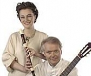 Michala Petri og Lars Hannibal