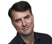 Mikael Kamber TV2 vært holder foredrag