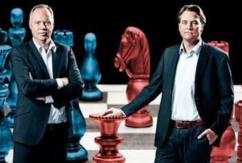 Mogensen og Kristiansen politiske kommentatorer moderatorer foredrag oplægsholdere