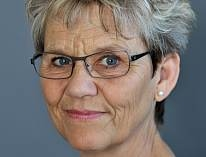 Monica Krog-Meyer radiovært og forfatter med bogen Plus alderen