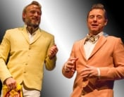 Snobberne fra Rytteriet er to dygtige komikere med masser af erfaring i baggagen. De har både været i radioen og på tv og har fået flere udmærkelser overrakt grundet deres professionelisme og komik på højt plan