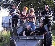 StepN Stone danseorkester partyband med fest og stemning 2 sangerinder