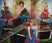 The Beat Birds 60'er rock'n roll med 4 friske piger