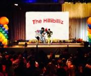 The Hillibilliz synger børnesange og elsker at lade publikum tage del i underholdningen