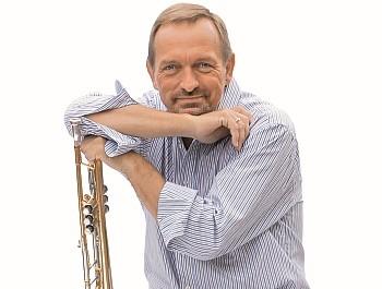 Per Nielsen spiller trompet