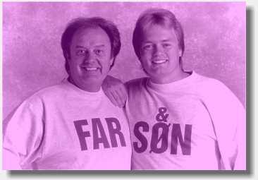 Bjørn og Johnny er far og Søn. Spiller i h.h.v. Bjørn & Okay og Kandis