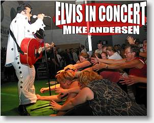 Elvis Show der får alle op ad stolene