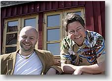 Erik Grip sammen med Henrik Gunde