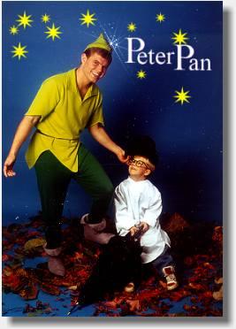 Peter Pan BOOKING Ønskesøen Kaptajn Klo